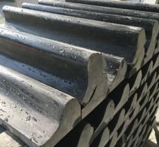 新品654路沿石矿山人造石 精准红外线加工654黑石 花岗路沿石批发